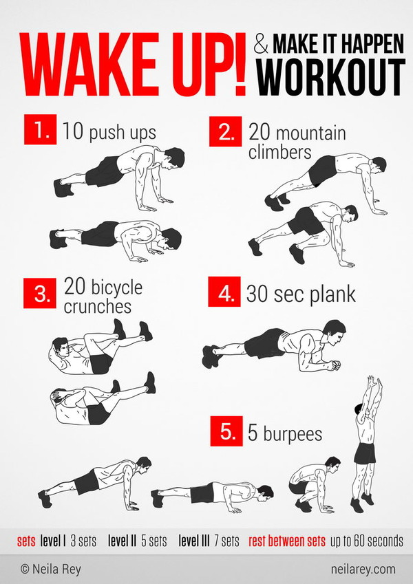 Easy Morning Workouts! (Just Wake Up And Go For It!)