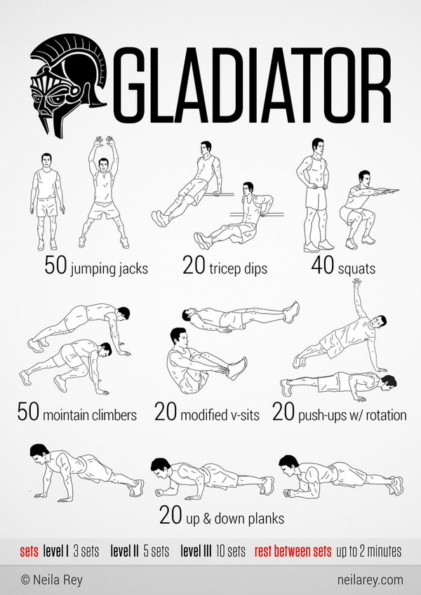 Easy quick workouts for everyone