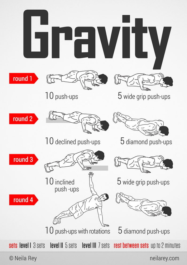 The Gravity Workout Workouts For Strong Biceps