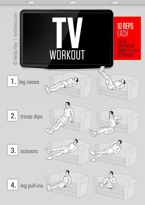 The TV Workout