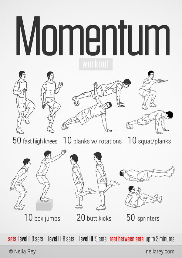 The momentum workout