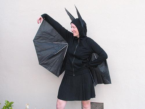 Umbrella Bat halloween costume