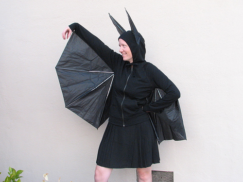 Umbrella Bat halloween costume