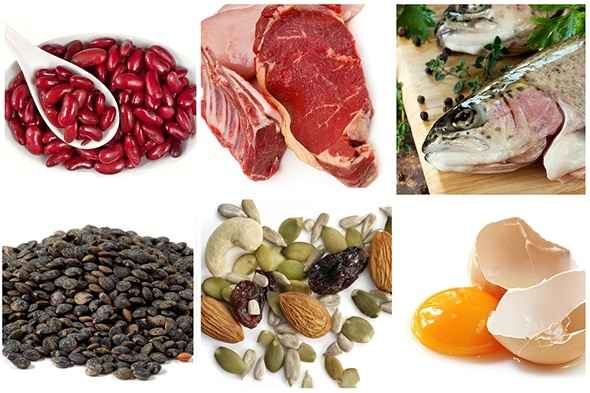 Eat protein rich diet to get a bigger butt naturally