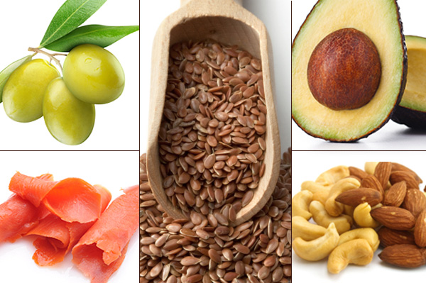 Eat the right type of fats and carbohydrates