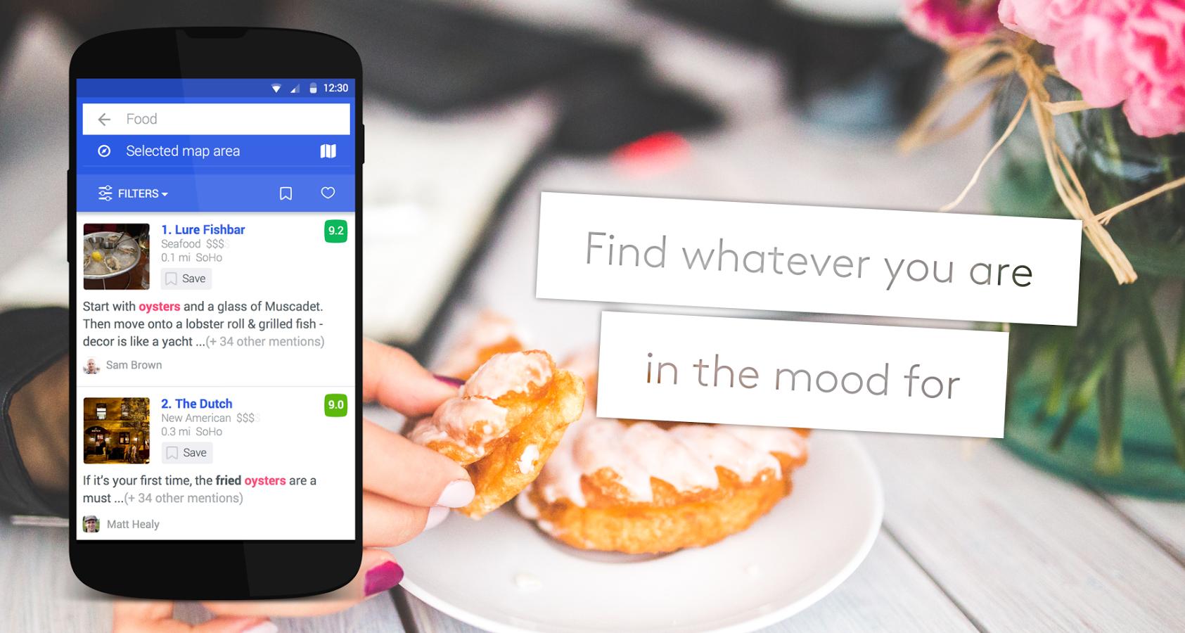 Foursquare-restaurants-near-me-finding-app
