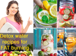 instant fat burning detox water recipes