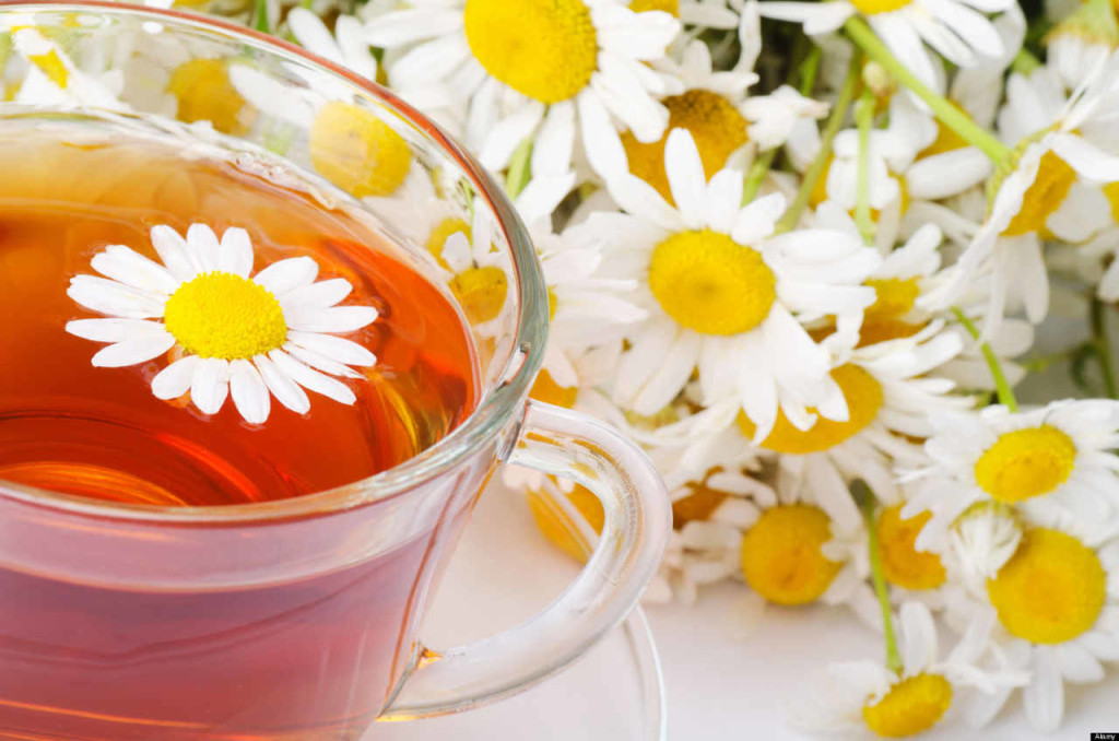 Chamomile Tea to stop heartburn