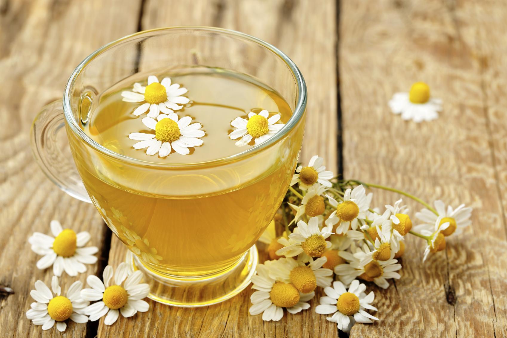chamomile tea to cure diarrhea