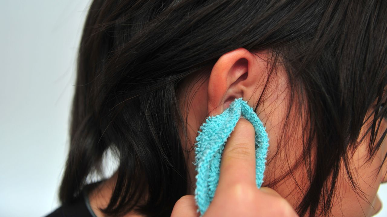 Clean Your Ear With a Soft Towel
