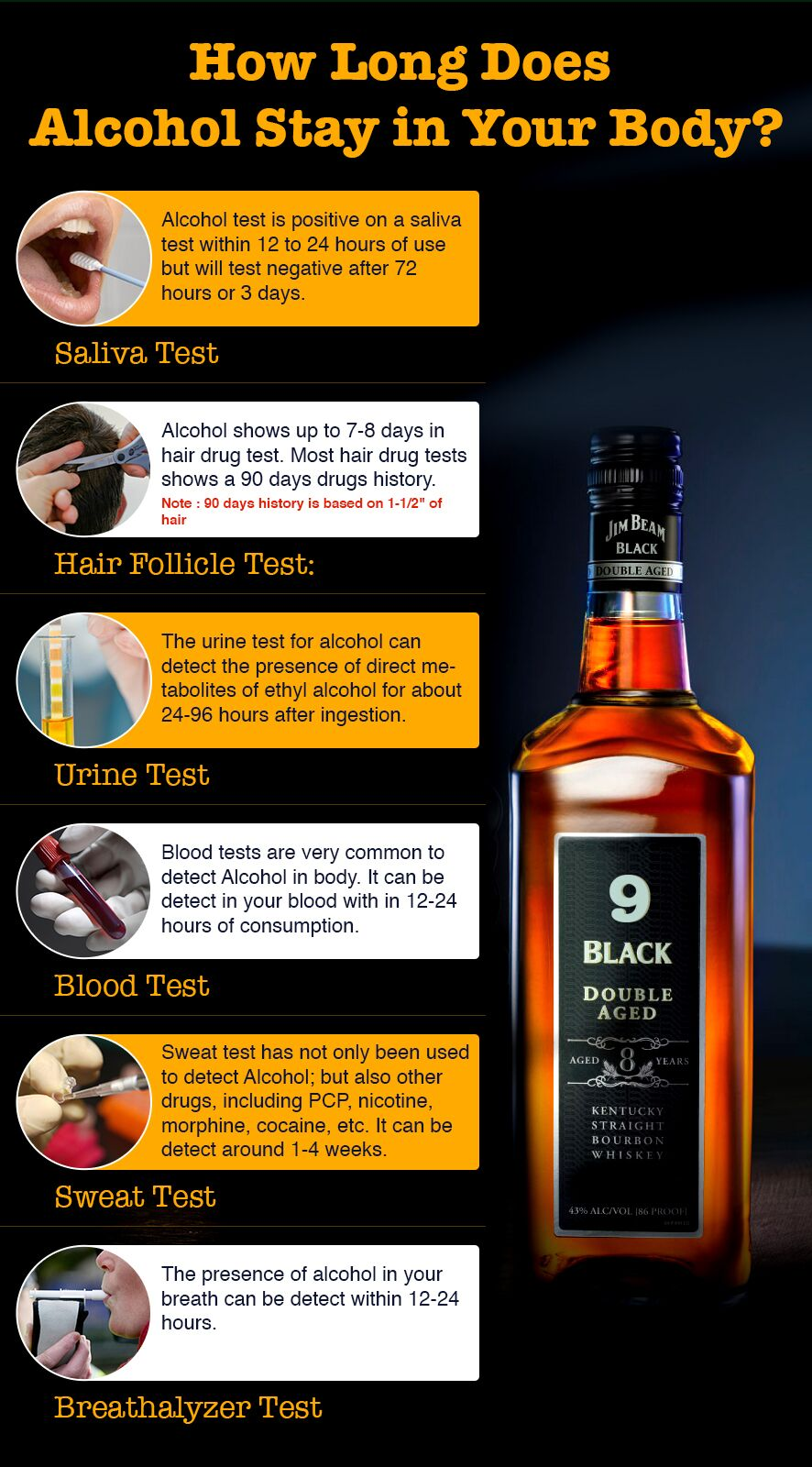 How Long Does Alcohol Stay in Your Body?