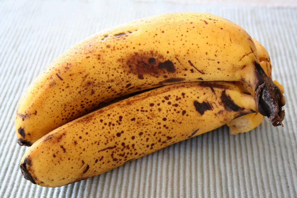 Overripe bananas - How to get rid of heartburn