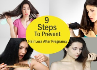 9 Steps To Prevent Hair Loss After Pregnancy