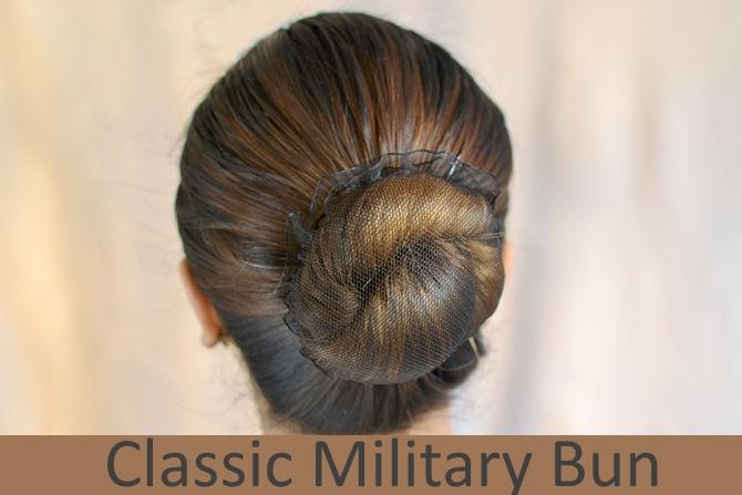 Classic Military Bun