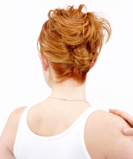 Easy French Twist Bun