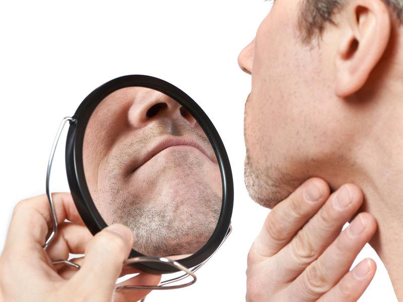Improper shaving