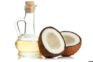 coconut oil to tame frizz