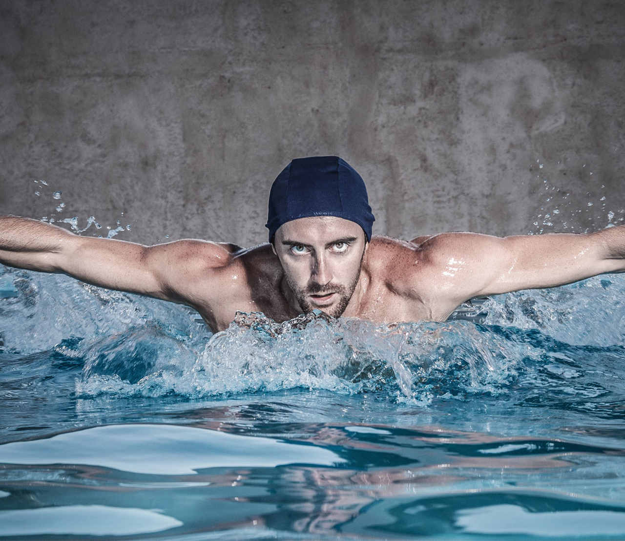 how to grow thicker facial hair - by exercising