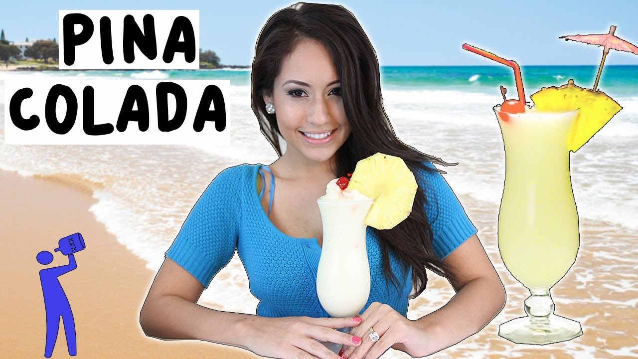 how to make pina colada