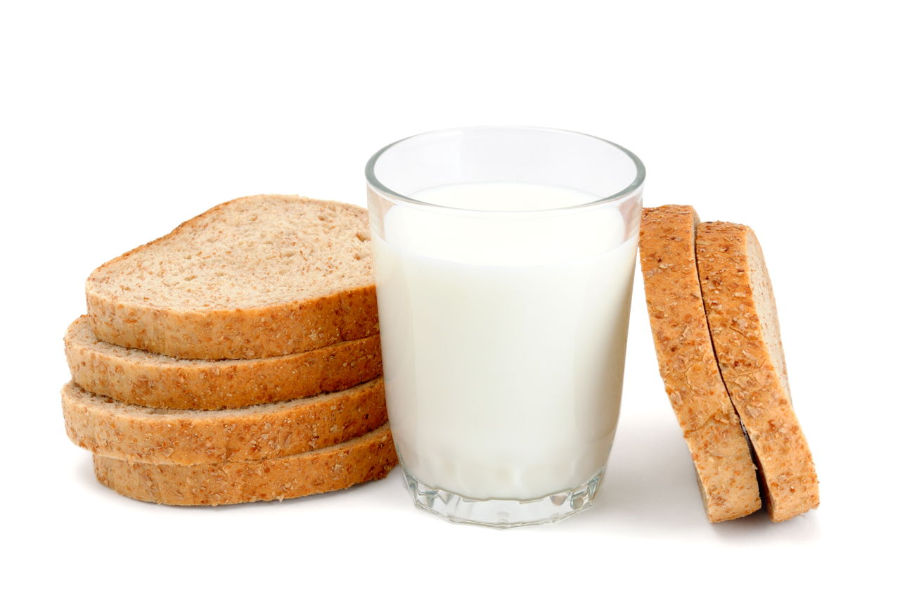 old bread and milk for ingrown hair