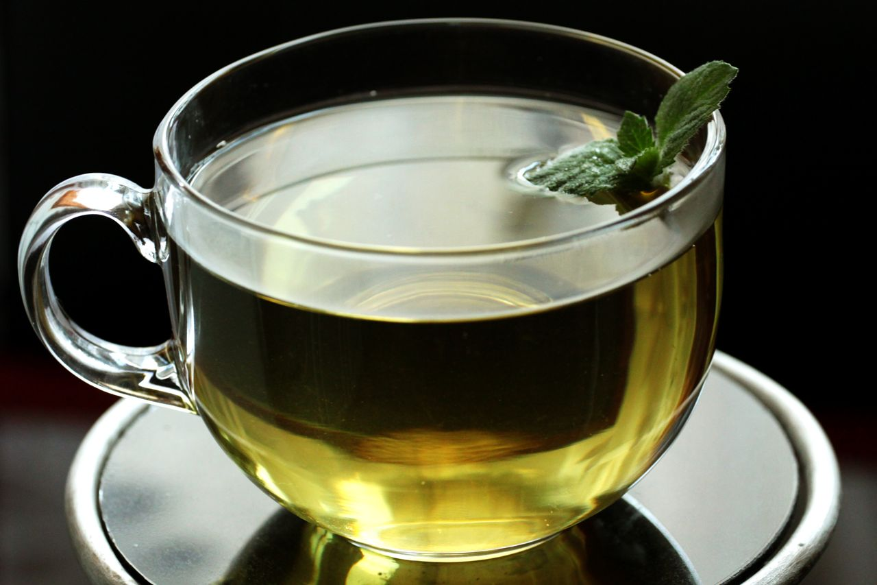 Special tea to get rid of facial hair
