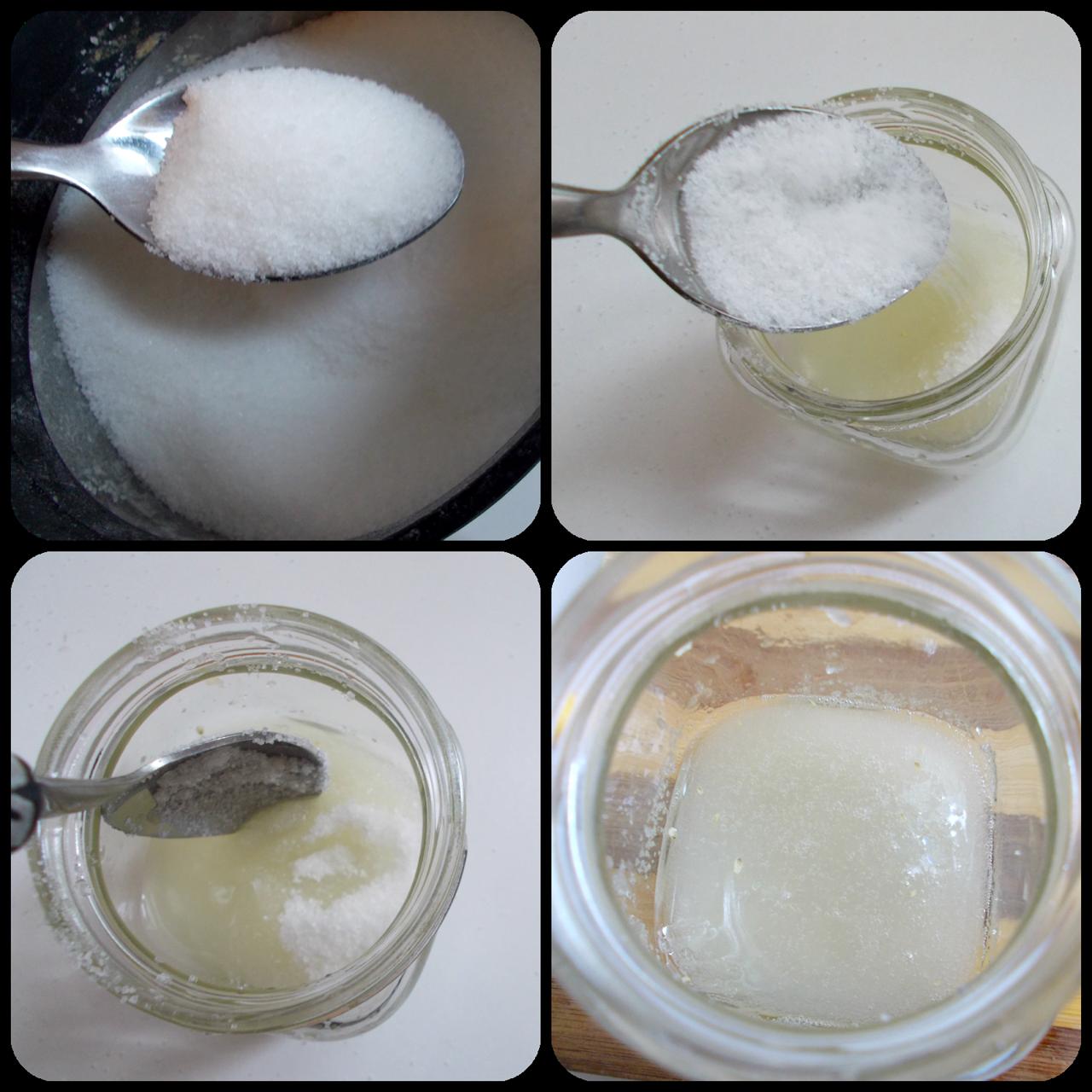 Sugar and Lemon Mix For Unwanted Facial Hair