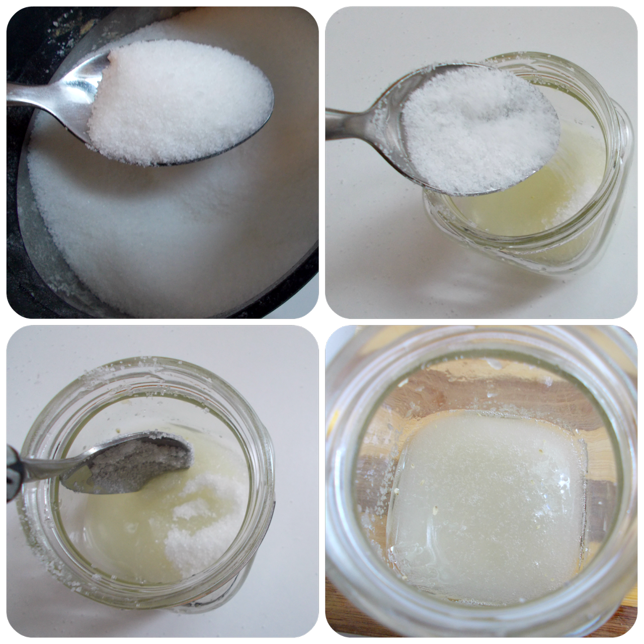 Sugar and Lemon Mix For Unwanted Facial Hair