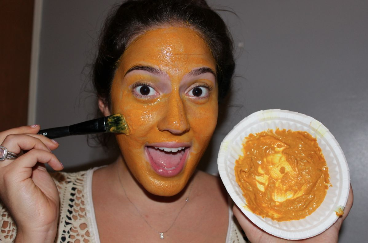 Turmeric Face Mask - A Natural Hair Removal
