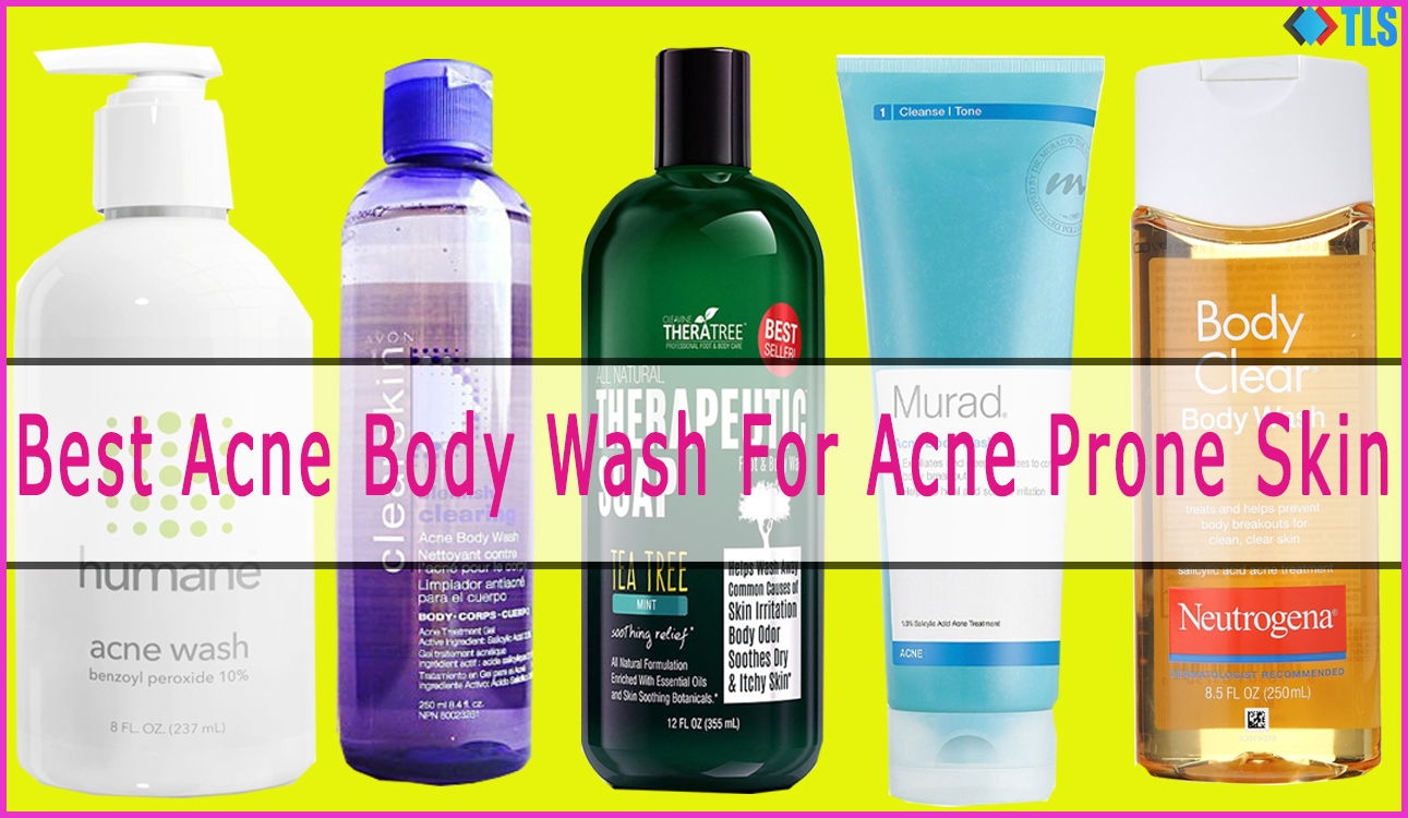 Best body wash for acne