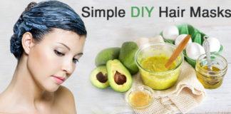 Simple DIY hair mask