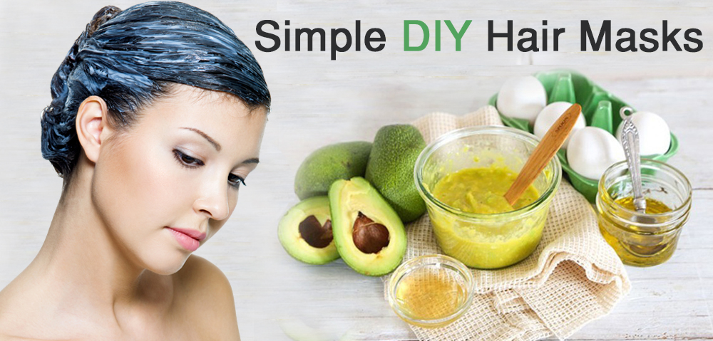 Simple DIY hair mask
