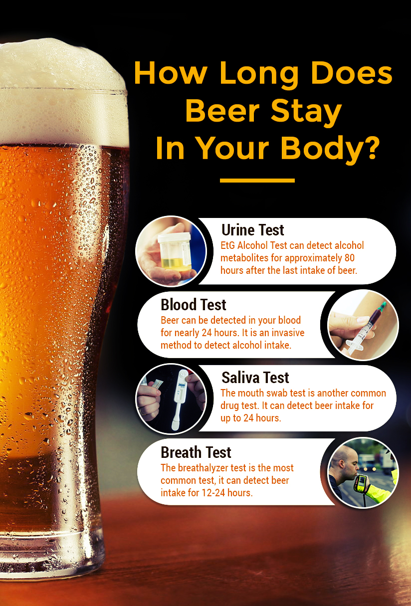How Long Does Beer Stay In Your Body?