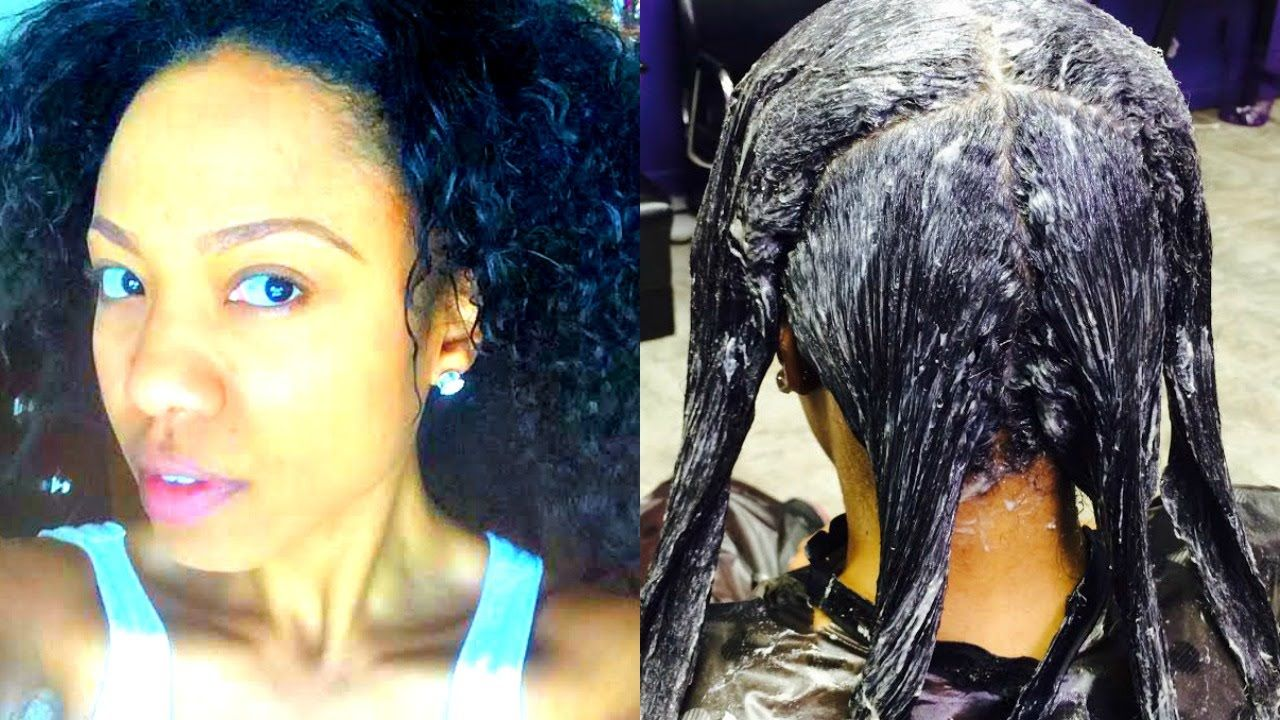 How to straightener hair with relaxers