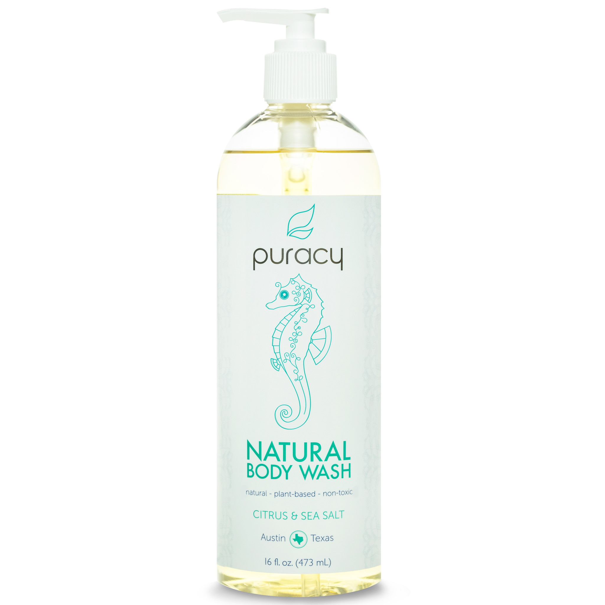 Puracy 100% Sulfate-Free Natural Body Wash