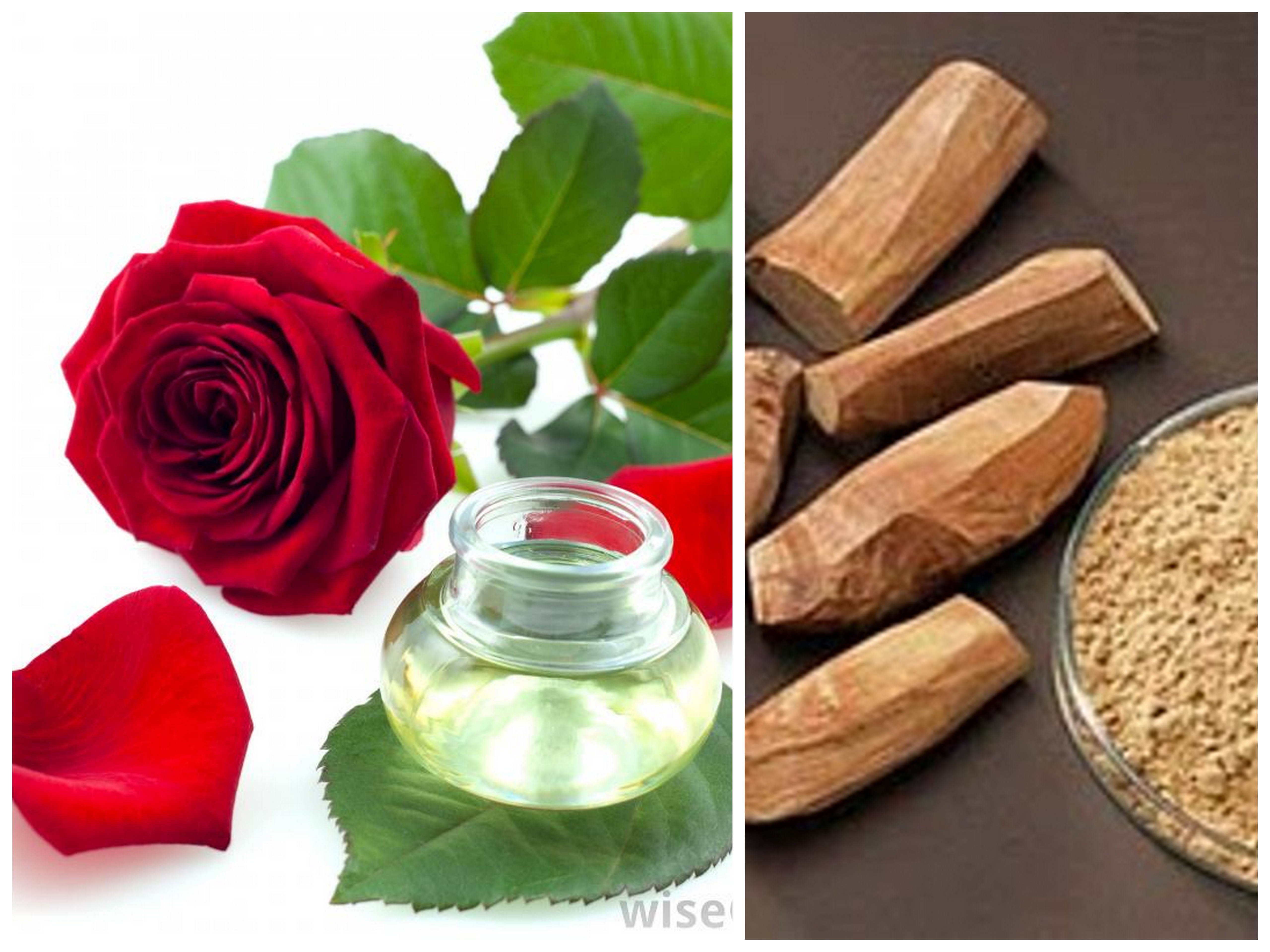 Rose-Water and Sandalwood