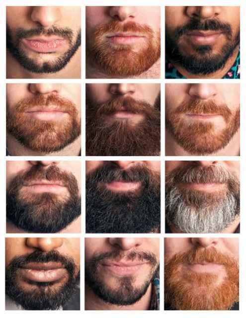 Trendy goatee styles beard