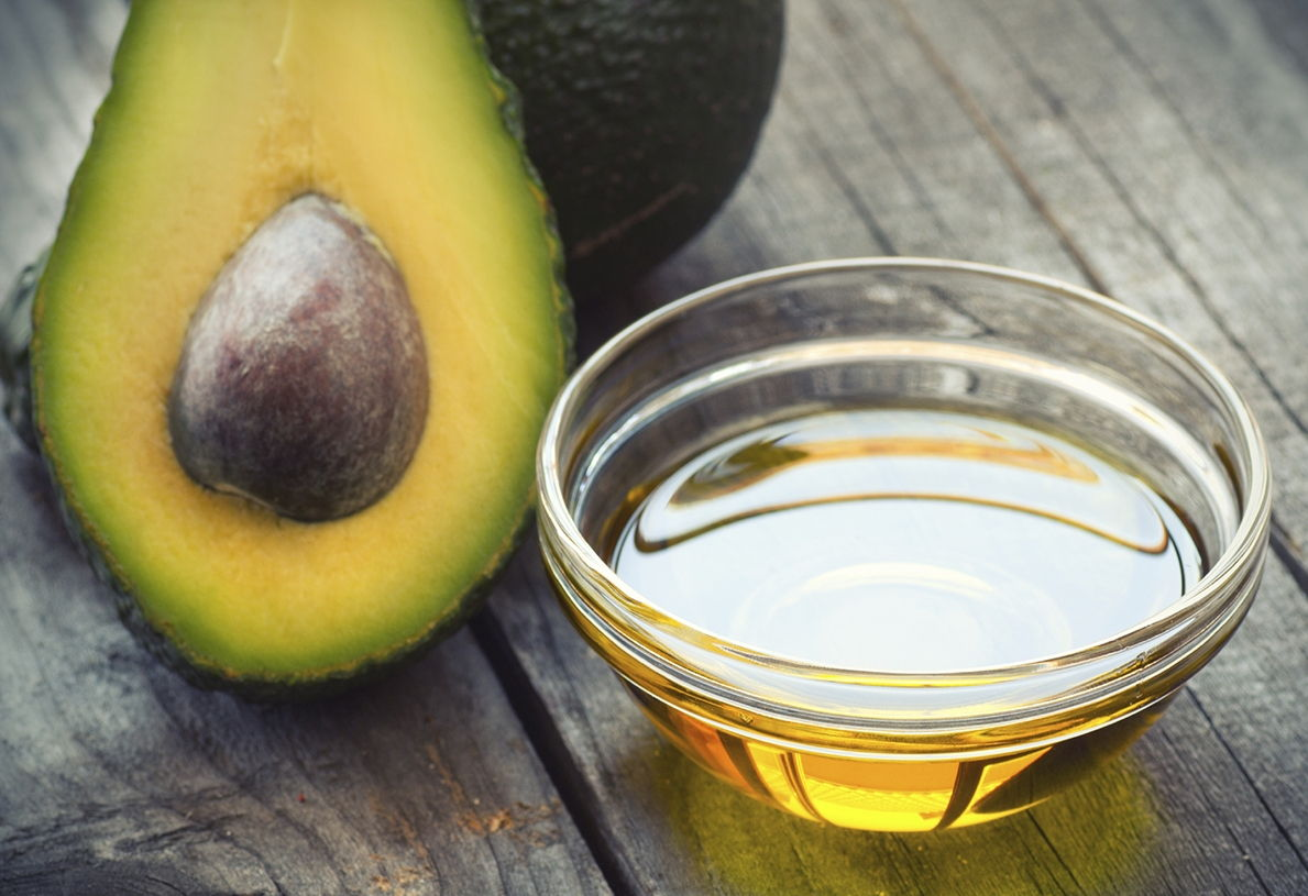 avocado and honey DIY hair mask