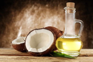 coconut and olive oil hair treatment