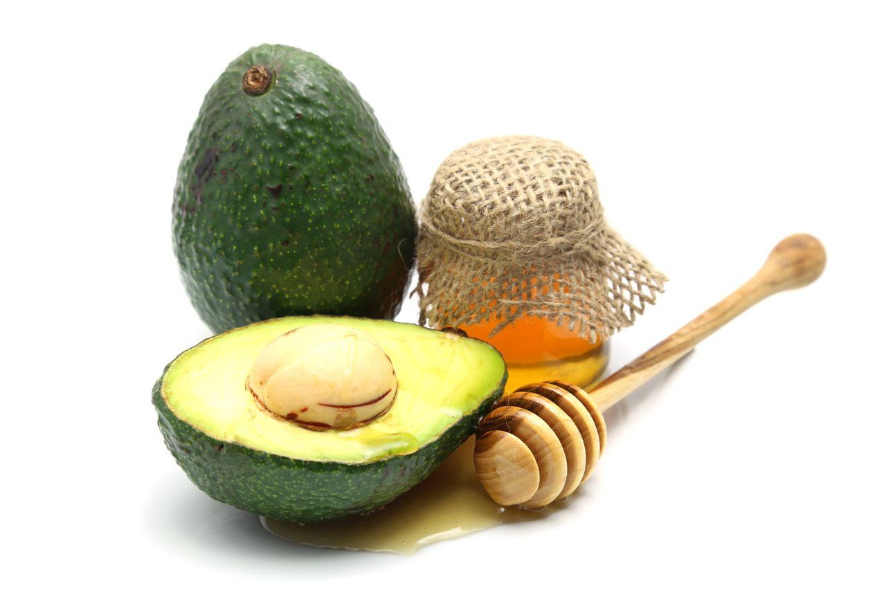 honey avocado hair mask