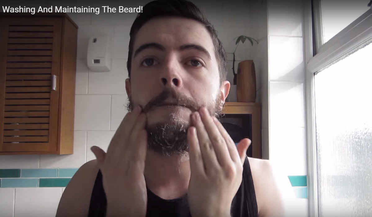 how to grow a goatee fast by washing it regularly