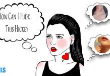 how to hide a hickey