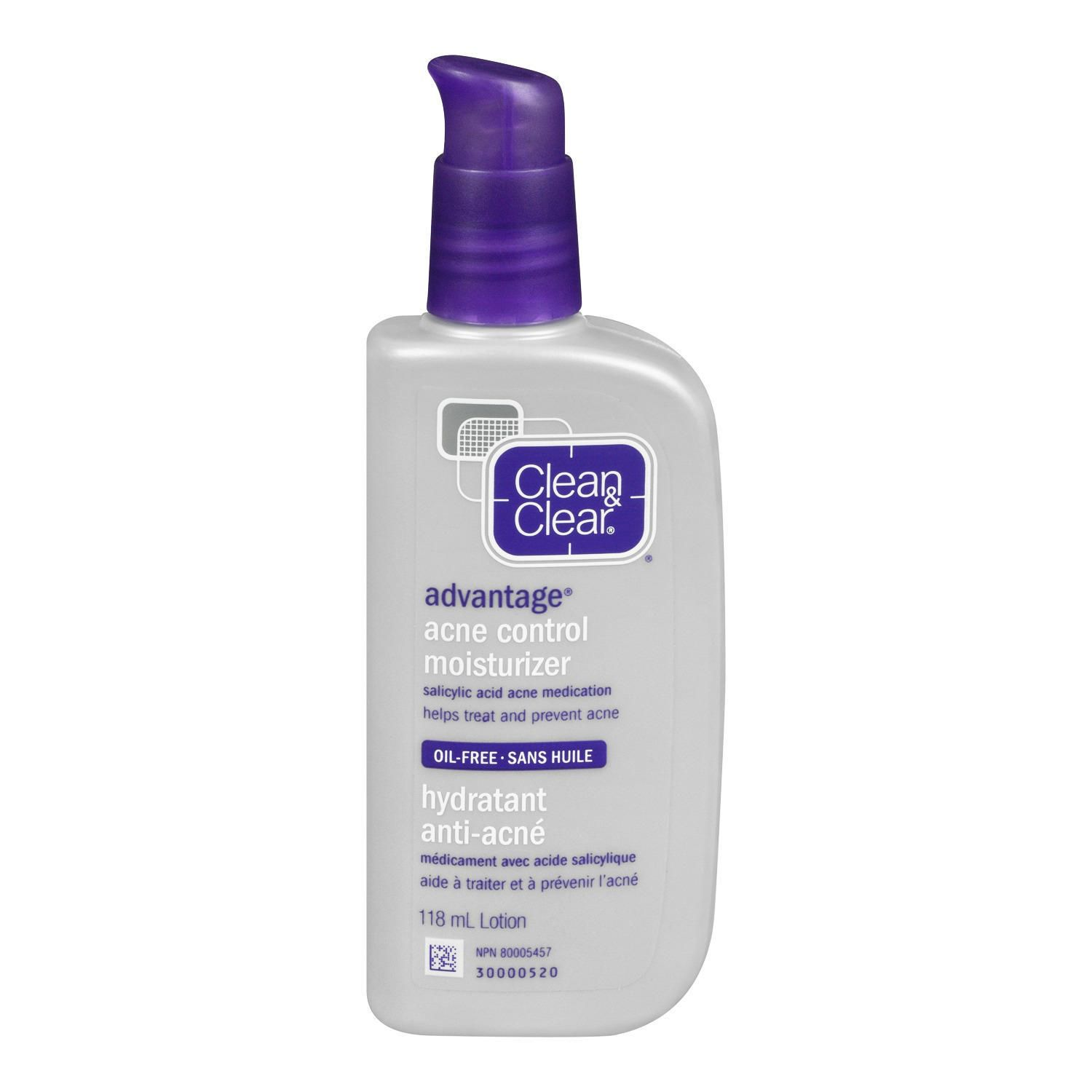 the best moisturizer for oily skin is from Clean & Clear