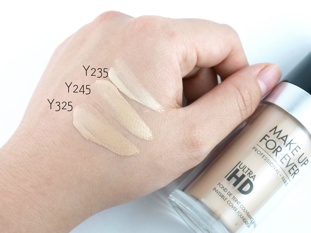 foundations and concealers