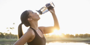 Keep yourself hydrated all the time..