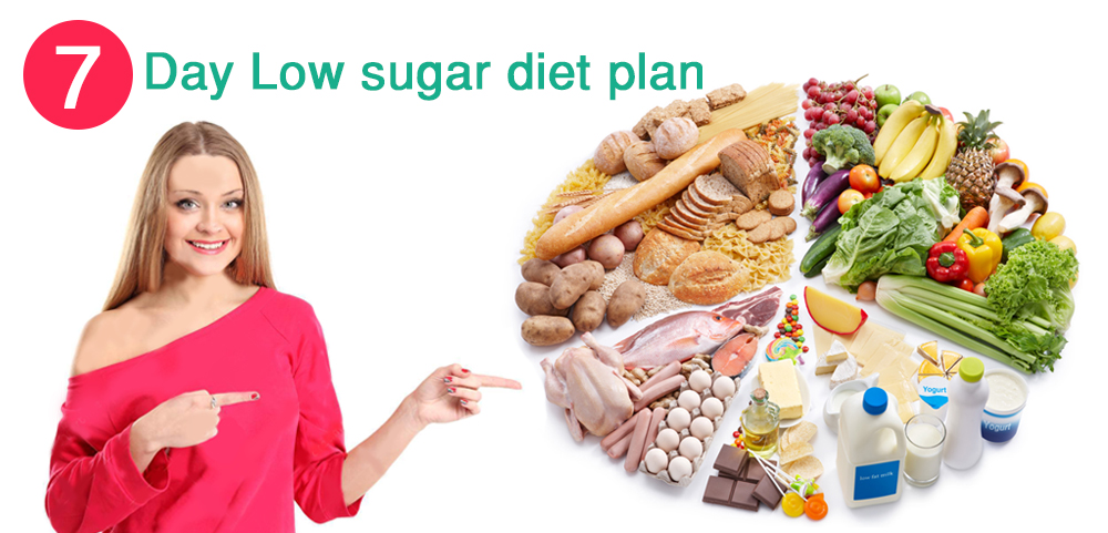 7-day Low Sugar Diet Plan to Wean You Off the Sweet Stuff