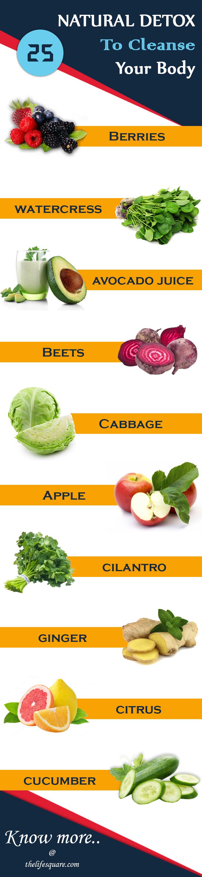 Natural Detox Foods