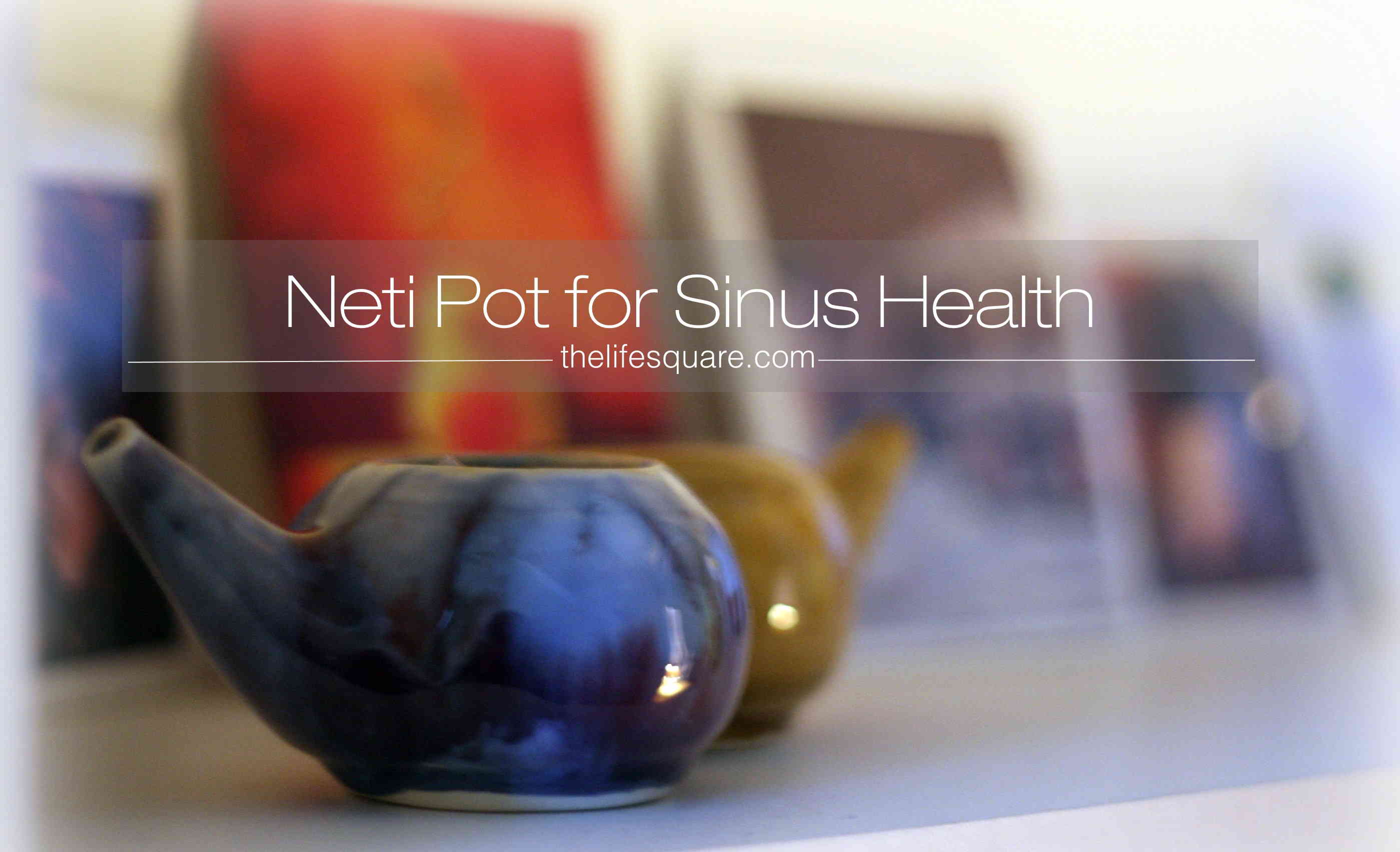 Neti Pot for Sinus HEalth