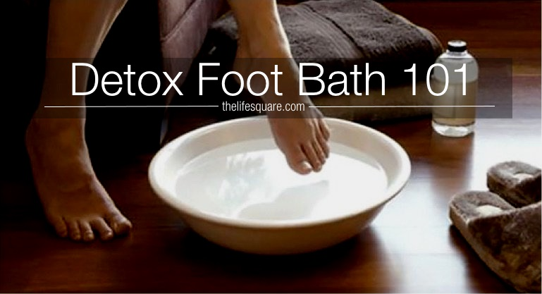 A Guide to Detox Foot Bath