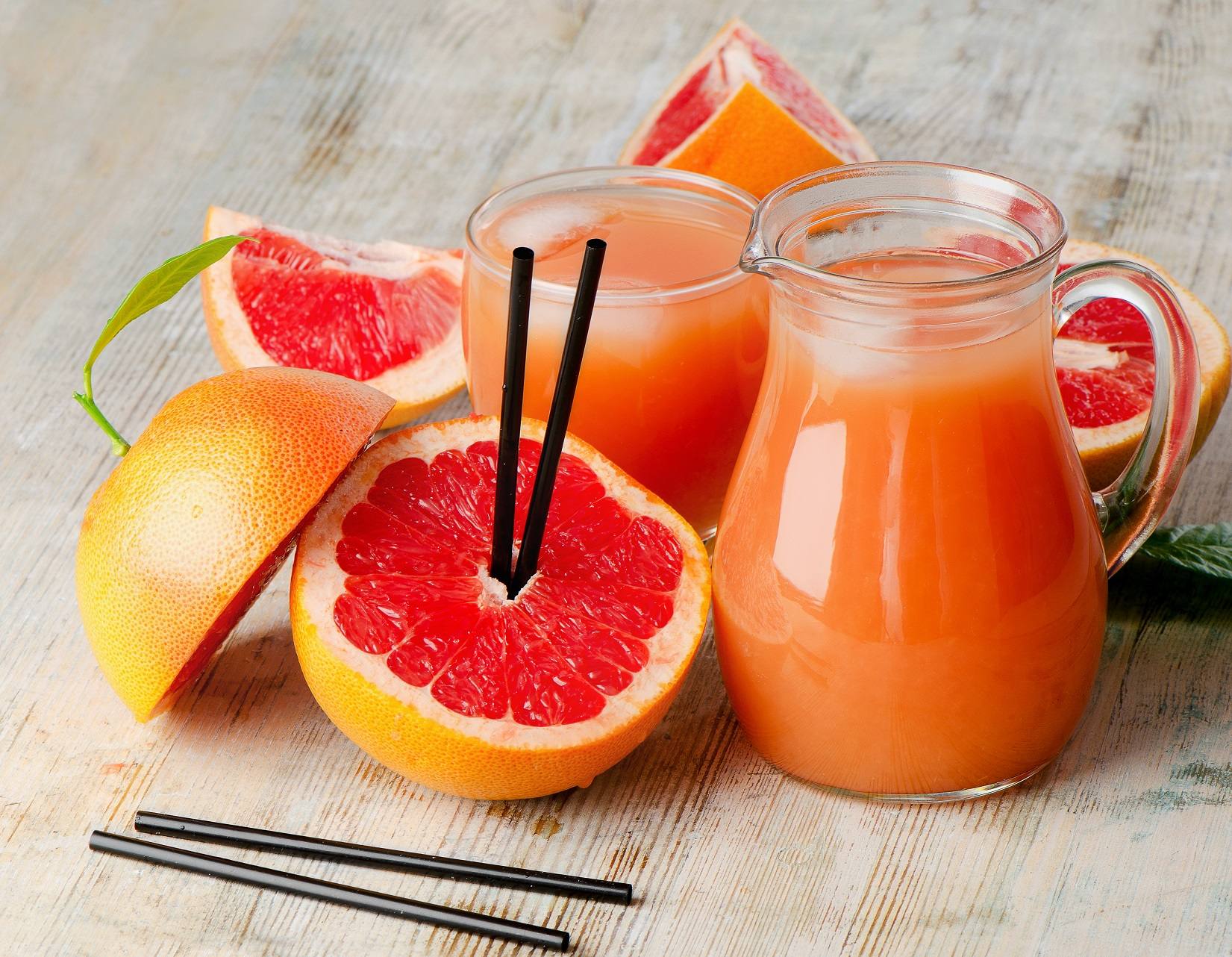 Reap the benefits of grapefruit detox.