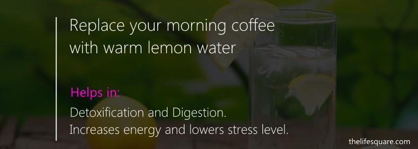 lemon water detox diet